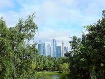 莫斯科城市 免版税库存照片