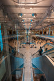 莫斯科多莫杰多沃机场的霍尔 库存照片