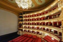 他莫斯科大剧院芭蕾和歌剧一个历史的剧院在莫斯科,俄罗斯 库存图片