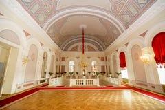 他莫斯科大剧院芭蕾和歌剧一个历史的剧院在莫斯科,俄罗斯 免版税库存照片