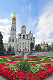 莫斯科大教堂在克里姆林宫 免版税库存照片
