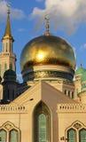莫斯科大教堂清真寺,俄罗斯看法  库存图片