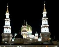莫斯科大教堂清真寺,俄罗斯--主要清真寺在莫斯科 免版税库存图片