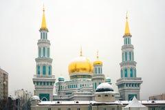 莫斯科大教堂清真寺, 库存图片