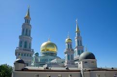 莫斯科大教堂清真寺-主要清真寺在莫斯科,俄罗斯 库存照片