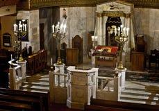 莫斯科好犹太教堂的圣所,圣所阿荣 库存照片