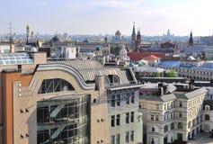 莫斯科市中心,俄罗斯 免版税库存图片