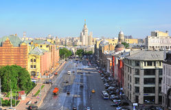 莫斯科市中心,俄罗斯 图库摄影