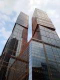 莫斯科市摩天大楼 免版税库存图片