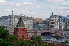 莫斯科市视图 免版税库存照片