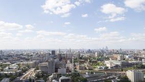 莫斯科市风景早晨 图库摄影