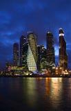 莫斯科市 背景美好的图象安装横向晚上照片表使用 免版税库存图片
