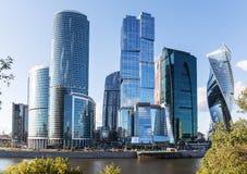 莫斯科市(莫斯科国际商业中心),俄罗斯 库存图片