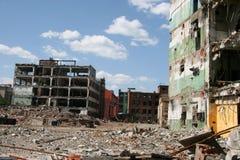 莫斯科废墟 免版税库存照片