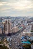 莫斯科庭院圆环 免版税库存照片