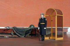 莫斯科战士坟茔未知 库存图片