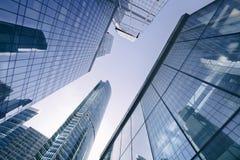 莫斯科摩天大楼 结构商务中心例证主题 俄国 免版税库存图片