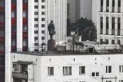 莫斯科日落 库存照片