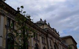 莫斯科是一个五颜六色的城市 库存照片