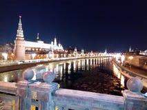 莫斯科晚上tsaritsyno 免版税库存图片