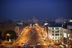 莫斯科晚上tsaritsyno 库存图片