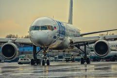 莫斯科机场多莫杰多沃 库存图片