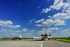 莫斯科机场多莫杰多沃 免版税库存图片