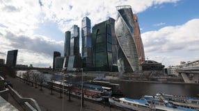 莫斯科河,莫斯科,俄国联邦城市,俄罗斯联邦,俄罗斯 图库摄影