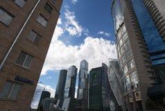 莫斯科河, Presnensky区,莫斯科,俄国联邦城市,俄罗斯联邦,俄罗斯 库存图片