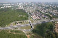 莫斯科环行路 库存图片