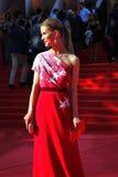 莫斯科电影节的斯韦特兰娜伊万诺娃 库存照片