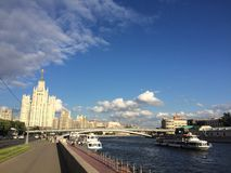 莫斯科的历史的中心 库存图片