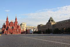 莫斯科红场  免版税库存照片