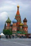 莫斯科红色俄国广场 图库摄影