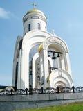 莫斯科美丽的圣乔治教会2011年5月 免版税库存图片