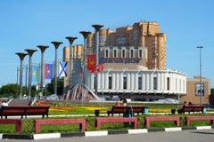 莫斯科艺术地区房子  库存图片