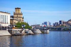 莫斯科视图 库存图片
