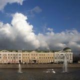 莫斯科视图 St索非亚堤防 免版税库存图片