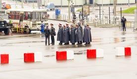 莫斯科警察 免版税库存照片
