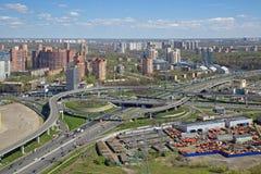 莫斯科都市风景 免版税图库摄影