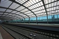 莫斯科铁路MCC的一点圆环或者MK MZD,俄罗斯 Luzhniki火车站 免版税图库摄影