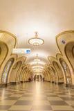 """莫斯科,俄罗斯†""""2017年7月09日:Novoslobodskaya内部我 库存照片"""