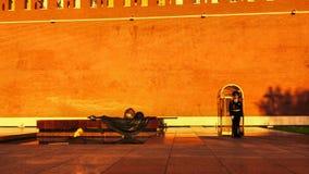 莫斯科,俄罗斯联邦- 2017年8月27日:-克里姆林宫,太阳 库存照片