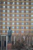 莫斯科,俄罗斯联邦- 14 04 2015年:对查尔斯de的纪念碑 免版税库存照片