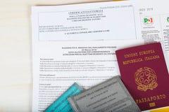 莫斯科,俄罗斯联邦 02/14/2018 Ita的选举包裹 免版税库存图片