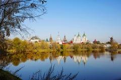 莫斯科,俄罗斯,克里姆林宫在Izmailovo 库存照片
