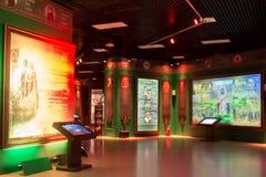 莫斯科,俄罗斯,博物馆`俄罗斯-我的历史` 库存图片