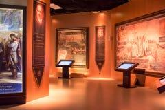 莫斯科,俄罗斯,博物馆`俄罗斯-我的历史` 库存照片