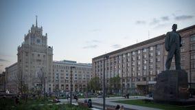 莫斯科,俄罗斯,街道场面定期流逝摄影,航拍 影视素材
