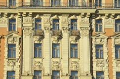 莫斯科,俄罗斯, 2016年11月, 22日 俄国场面:没人,旅馆`全国`的装饰的元素苏维埃前议院  免版税库存照片